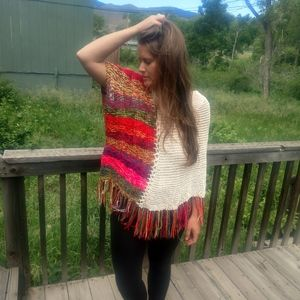 Hand woven shawl from Columbia